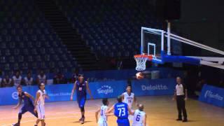 Basketball Mens Cambodia vs Thailand (Day 4)   28th SEA Games Singapore 2015