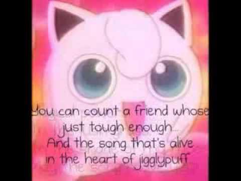 Song of Jigglypuff-Lyrics
