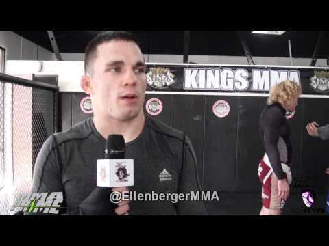 "Jake Ellenberger vs Diego Sanchez ""I'm Going in there to break his will"""