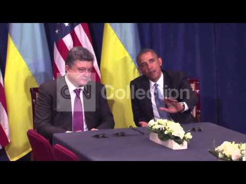 OBAMA:UKRAINE REJECTS THE PAST LOOKS TO FUTURE