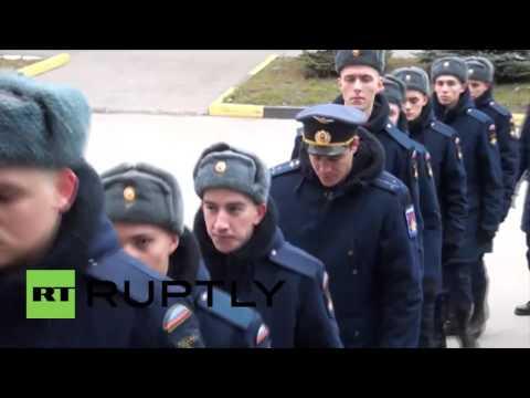 Russia: Funeral held for Su-24 rescue op marine Alexander Pozynich