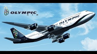 FSX Greek Olympic Airlines Boeing 747 400