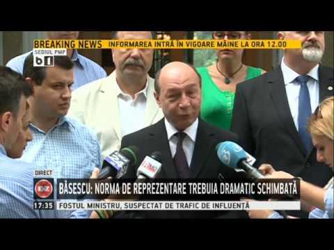Traian Basescu, despre faptul ca Eugen Tomac apare pe lista neagra a Moscovei