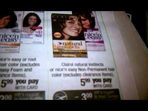 Cheap clairol hair color @cvs! EASY MONEY! 8/13/12
