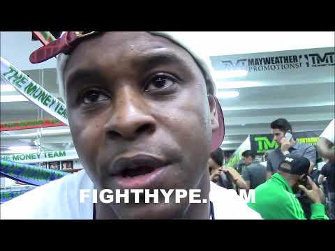 TMT'S DEJUAN BLAKE GIVES CAMP UPDATE; SAYS MAYWEATHER HAS HAD FIGHTS MORE IMPORTANT THAN PACQUIAO