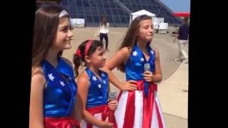USA FREEDOM KIDS at ROCK & ROLL HALL OF FAME with ABC POLITICS ELECTION CYCLE