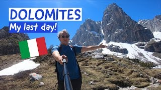 Last day in the DOLOMITES! Madonna di Campgilio in Trentino, Italy Travel VLOG #4