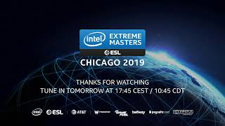 Live: IEM Chicago Season XIV - Group Stage Day 1 - B Stream