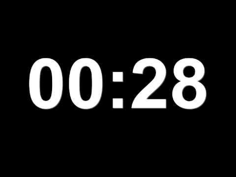Minute Countdown For Minute To Win It video
