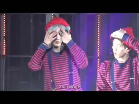 150530[Fancam] The EXO'luxion in Shanghai 〈Peter Pan〉Chanyeol focus