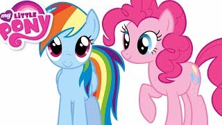 Rainbow Dash Pinkie Pie How To Draw MLP How To Draw My Little Pony Characters