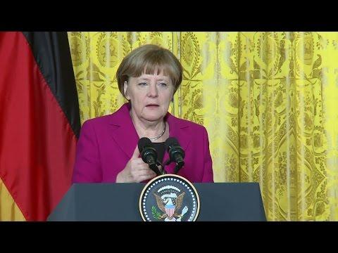 Ukraine-Konflikt: Worüber Merkel und Obama streiten