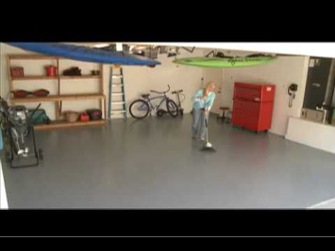 Garage Guard Epoxy Floor Paint Promo Youtube