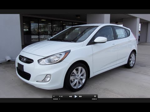 2012 Hyundai Accent SE Hatchback Start Up, Engine, and In Depth Tour