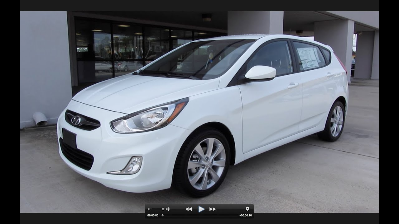 2012 Hyundai Accent Se Hatchback Start Up Engine And In