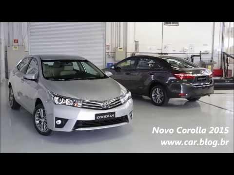 Novo Toyota Corolla 2015 - www.car.blog.br