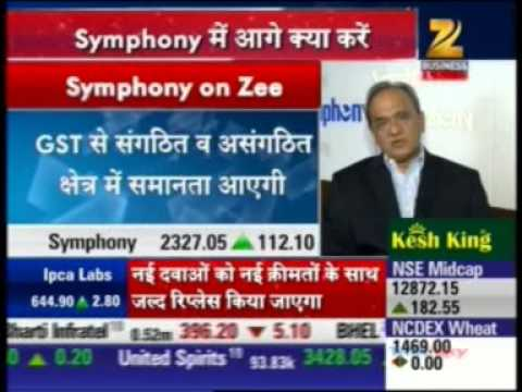 01 Zee Business Sensex Strategy Helpline 04 May 2015 06min 16sec Mr  Achal Bakeri   CMD, Symphony Lt