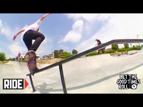 Riley Hawk, Slash, Jamie Thomas and Bros Skate Bishop Park – LET THE GOOD TIMES ROLL