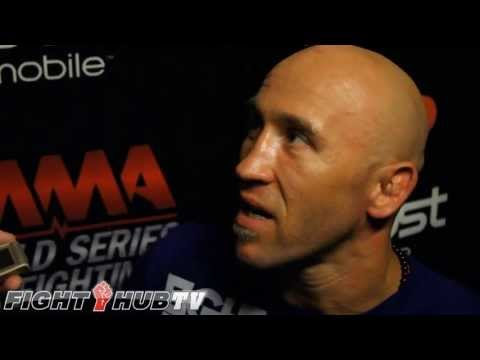 Josh Burkman post fight interview at WSOF 3