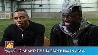 Diafra Sakho et Cheikhou Kouyate: Frères d'armes