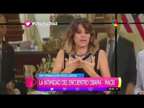 María Freytes habló de Barack Obama y se quebró