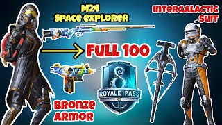 Open Full Royal Pass Season 8 | Open Ocean Crate - Get New M24 Skin | Tony Sama | Pubg Mobile