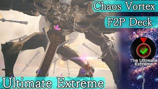 The Ultimate Beyond Chaos Vortex 40 - F2P No Supremes | Mobius Final Fantasy