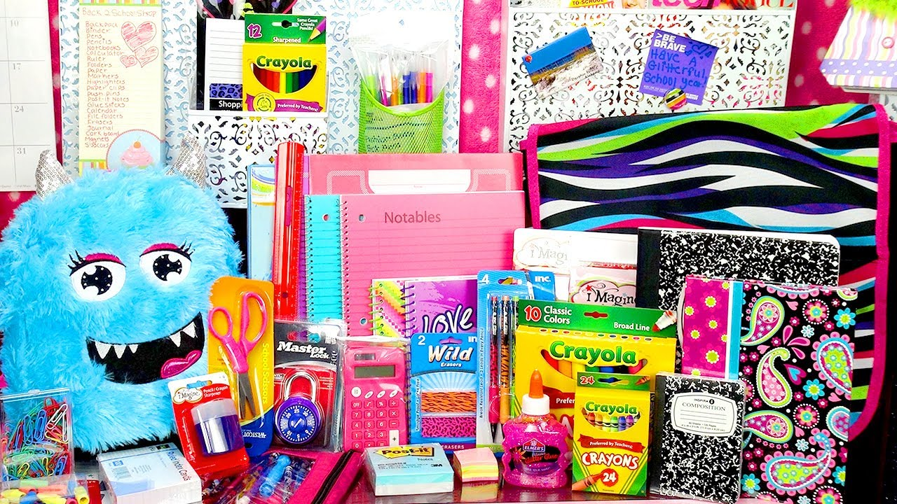 Huge Back To School Giveaway Over 100 Pieces Of School
