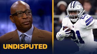 Cowboys and Zeke will 'work it out' before regular season — Eric Dickerson | NFL | UNDISPUTED