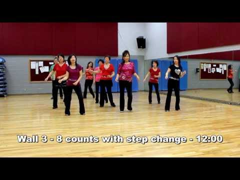 Hit The Road Jack - Line Dance (Dance & Teach in English & 中文)