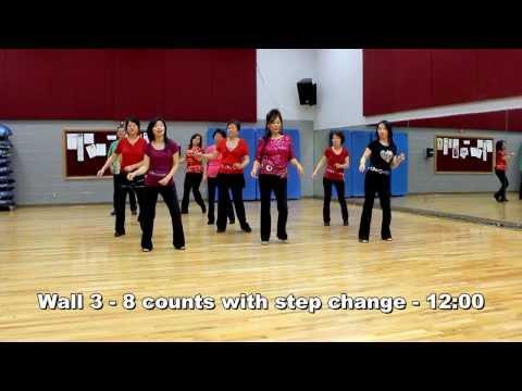 Hit The Road Jack - Line Dance (Dance & Teach in English & 中文)