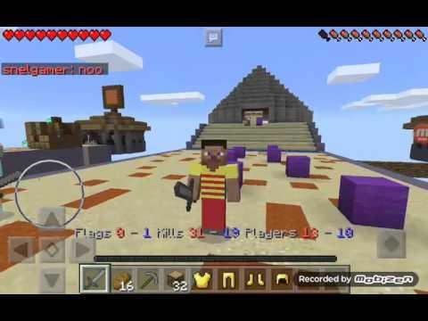 Minecraft 0.14.0 bayrak kapmaca serveri ip ve port açıklamada