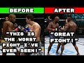 The Difference Between Having A Boring Fight In Old & New UFC Games