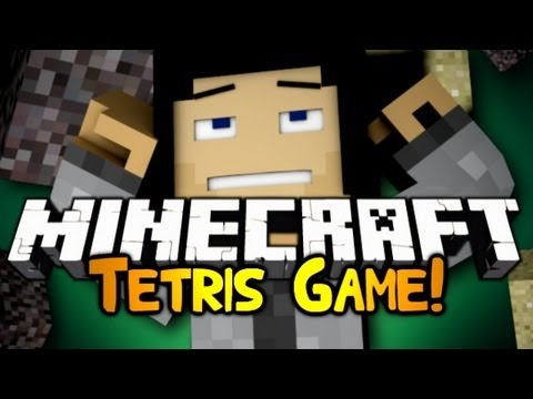 Minecraft: Mini Game: Tetris! w/ Gizzy & Friends!