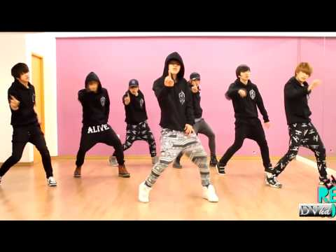 100% (2PM) - I'll Be Back (dance practice) DVhd