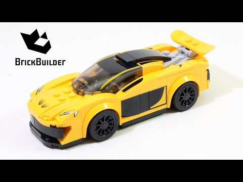 Lego Speed Champions 75909 McLaren P1 - Lego Speed build