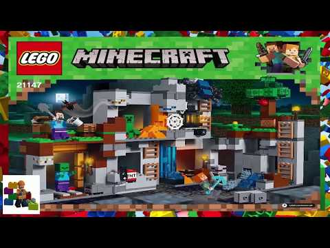 Download Lego Instructions Minecraft 21147 The Bedrock
