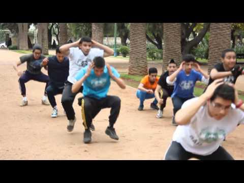 Street Workout - free style - BAR ARMY CASABLANCA