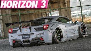 Forza Horizon 3 : 270+ MPH Ferrari 458 Build