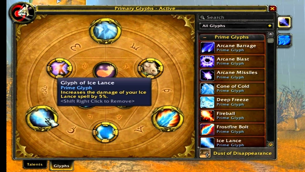 frost mage 4.3.4 talent guide