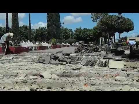 Arranca la Rehabilitación de la Plaza de Gral. Andrés Figueroa