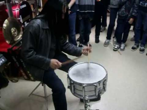 Mike Mangini (Dream Theater) Official OPENING DRUM ROLL at 247Drums