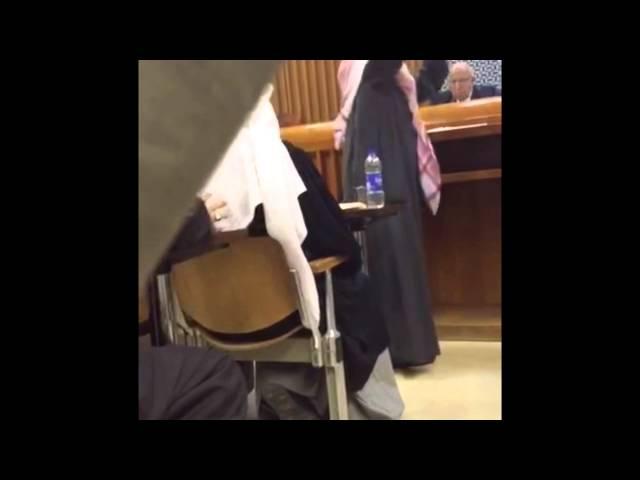 مرافعة مسلم البراك عن نفسه أمام المحكمة بقضية كفى عبثا