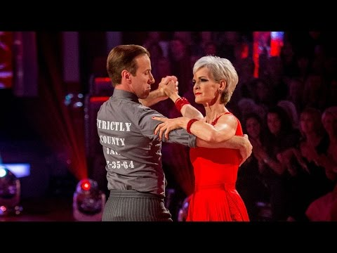 Judy Murray on Strictly