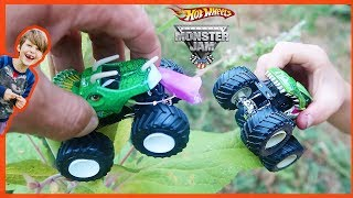 Monster Truck Eats POiSONOUS flower!