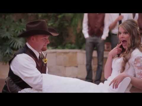 Rodeo Queen & Her Cowboy GET HITCHED by Utah Wedding Videographer