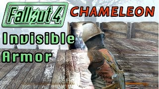 Invisible Chameleon Chesplate! (Invisible Armor) | Fallout 4