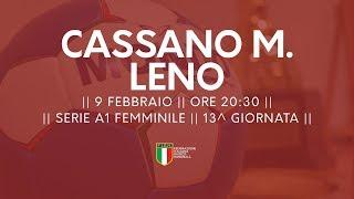 Serie A1F [13^]: Cassano Magnago - Leno 34-28