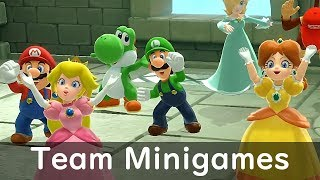 Super Mario Party All Team Minigames