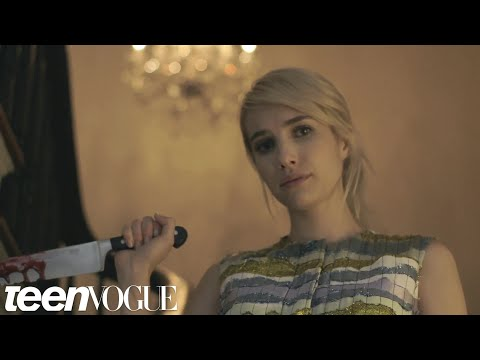 Emma Roberts Stars in 'Horror 101'